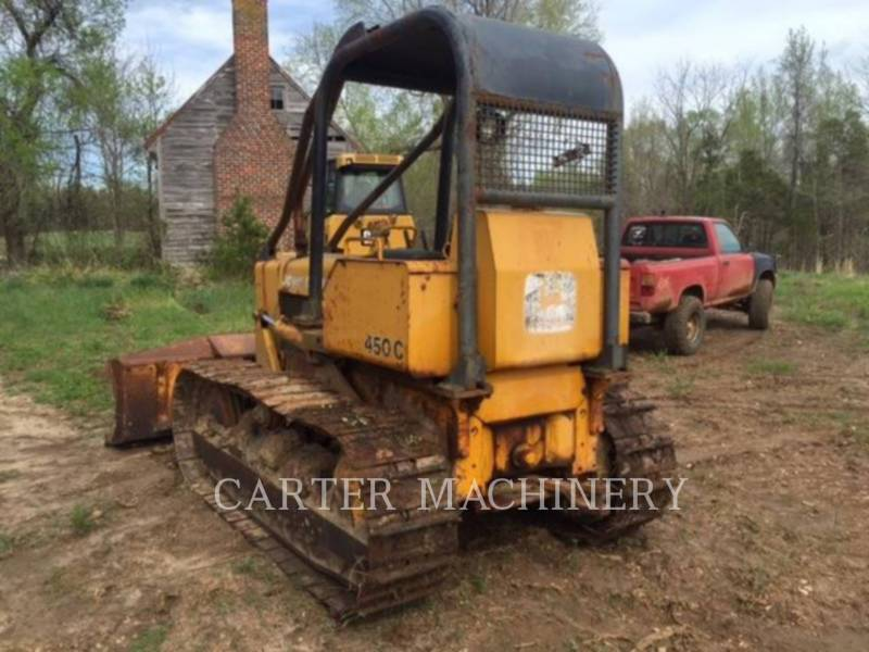 DEERE & CO. TRACK TYPE TRACTORS DER 450C equipment  photo 4