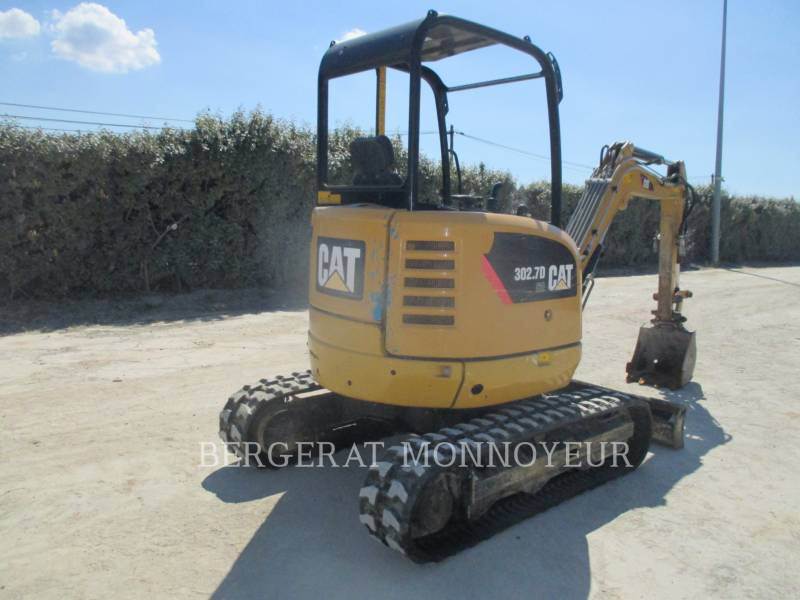 CATERPILLAR KETTEN-HYDRAULIKBAGGER 302.7D CR equipment  photo 14