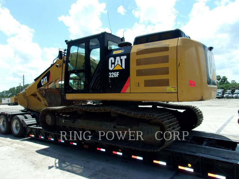 CATERPILLAR KETTEN-HYDRAULIKBAGGER 326FLTHUMB equipment  photo 4