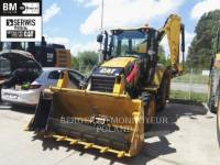 Equipment photo CATERPILLAR 428F2 BAGGERLADER 1