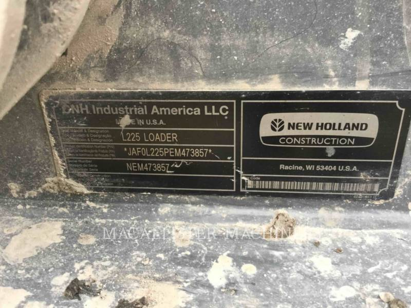 NEW HOLLAND LTD. CHARGEURS COMPACTS RIGIDES L225 equipment  photo 6