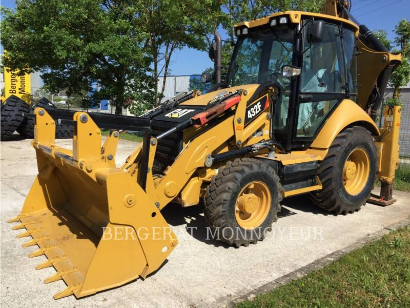 CATERPILLAR BACKHOE LOADERS 432F equipment  photo 6