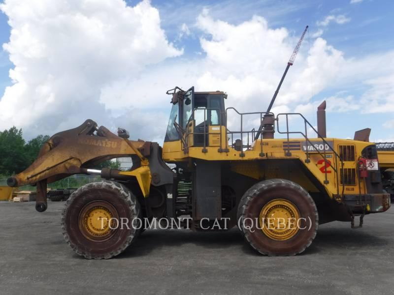 KOMATSU CARGADORES DE RUEDAS WA600 equipment  photo 1