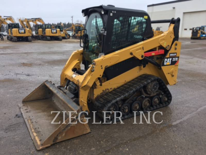 CATERPILLAR MULTI TERRAIN LOADERS 257DS equipment  photo 1