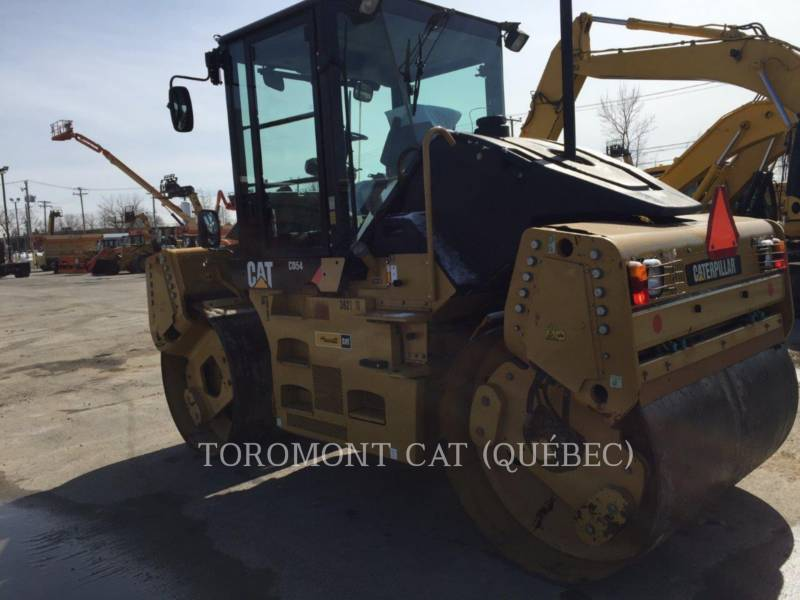 CATERPILLAR VIBRATORY DOUBLE DRUM ASPHALT CD54 equipment  photo 2