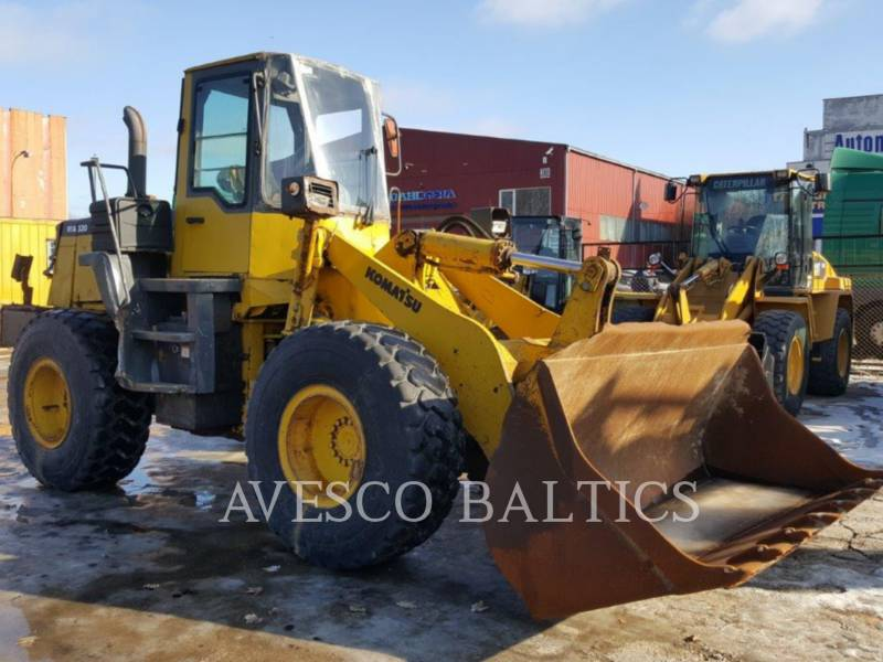 KOMATSU CARGADORES DE RUEDAS WA320-3H equipment  photo 1