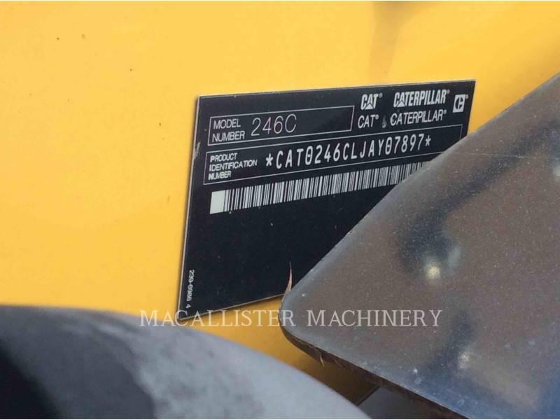 CATERPILLAR SKID STEER LOADERS 246C equipment  photo 5