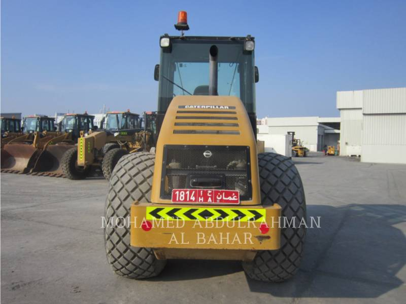 CATERPILLAR VIBRATORY SINGLE DRUM SMOOTH CS 533 E equipment  photo 4