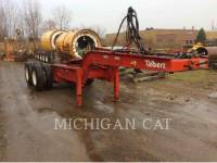 TALBERT TRAILERS 75 TON equipment  photo 10