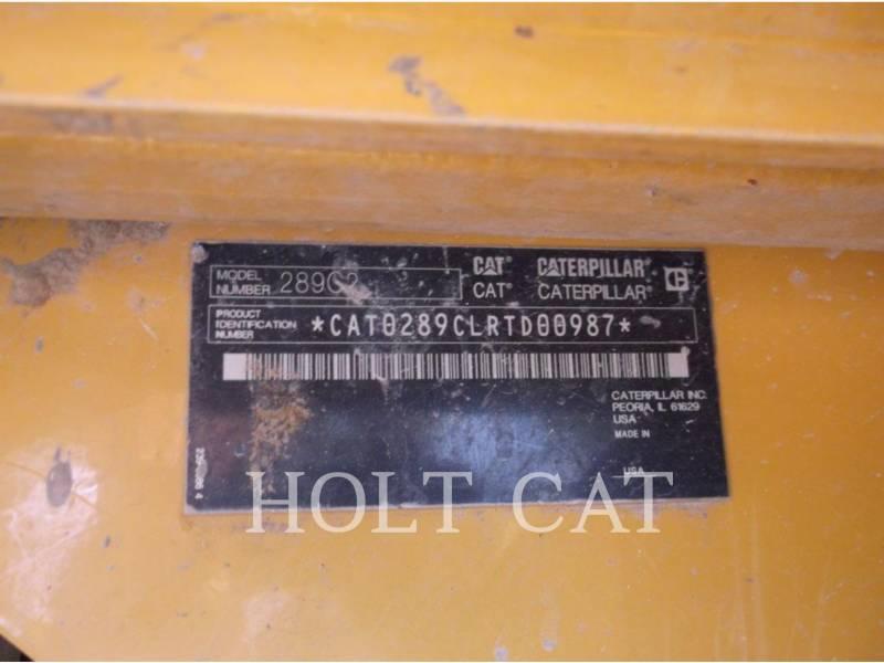 CATERPILLAR 多様地形対応ローダ 289C equipment  photo 5