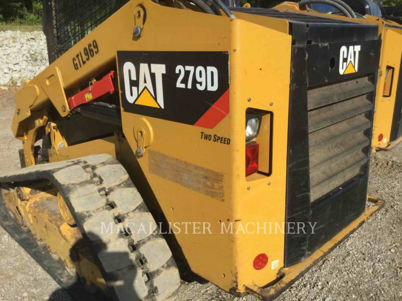 CATERPILLAR CARGADORES MULTITERRENO 279D equipment  photo 12
