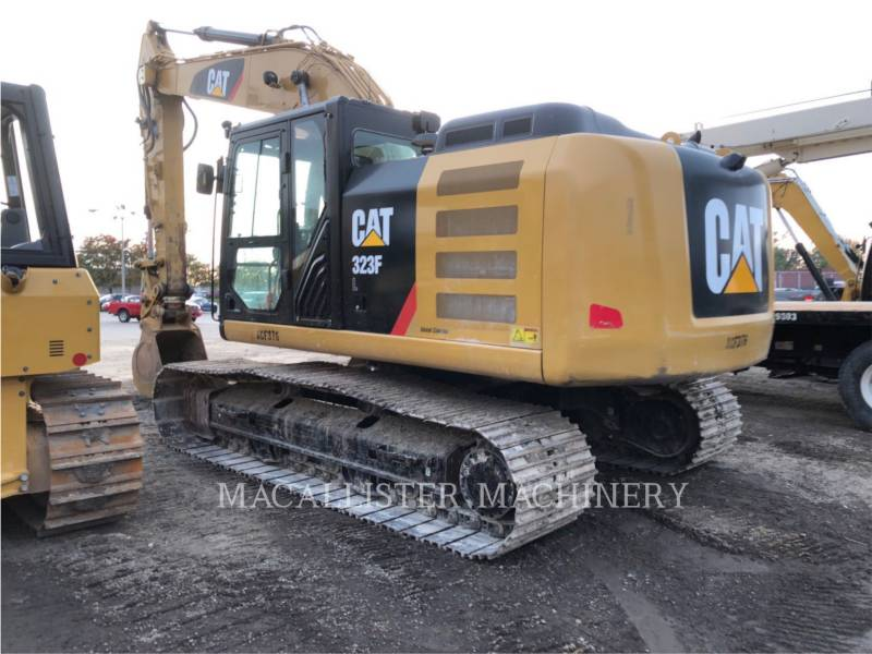 CATERPILLAR KOPARKI GĄSIENICOWE 323FL equipment  photo 2