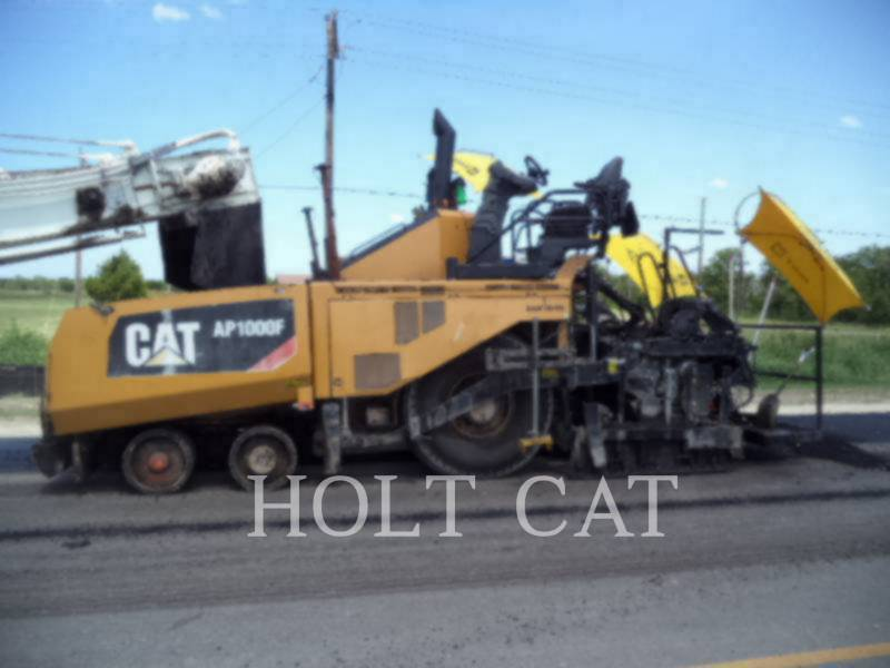 CATERPILLAR ASPHALT PAVERS AP1000F equipment  photo 1