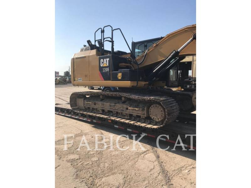 CATERPILLAR TRACK EXCAVATORS 320E HT equipment  photo 1