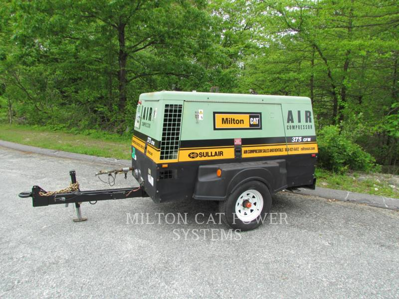 SULLAIR AIR COMPRESSOR (OBS) 375 HAF equipment  photo 1