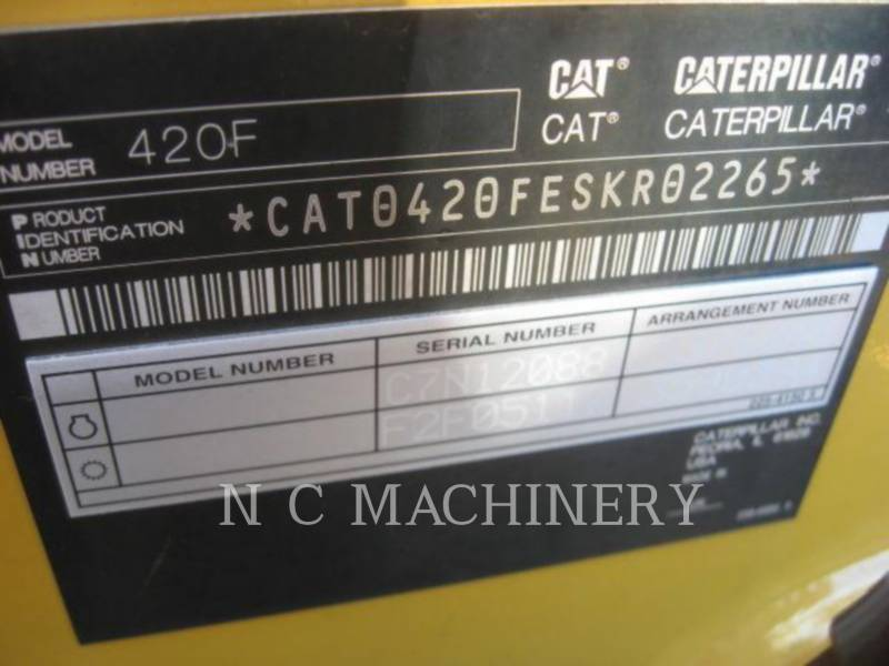 CATERPILLAR CHARGEUSES-PELLETEUSES 420F 4ECB equipment  photo 5