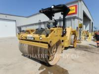 Equipment photo CATERPILLAR CB64 TANDEMOWY WALEC WIBRACYJNY DO ASFALTU (STAL-STAL) 1