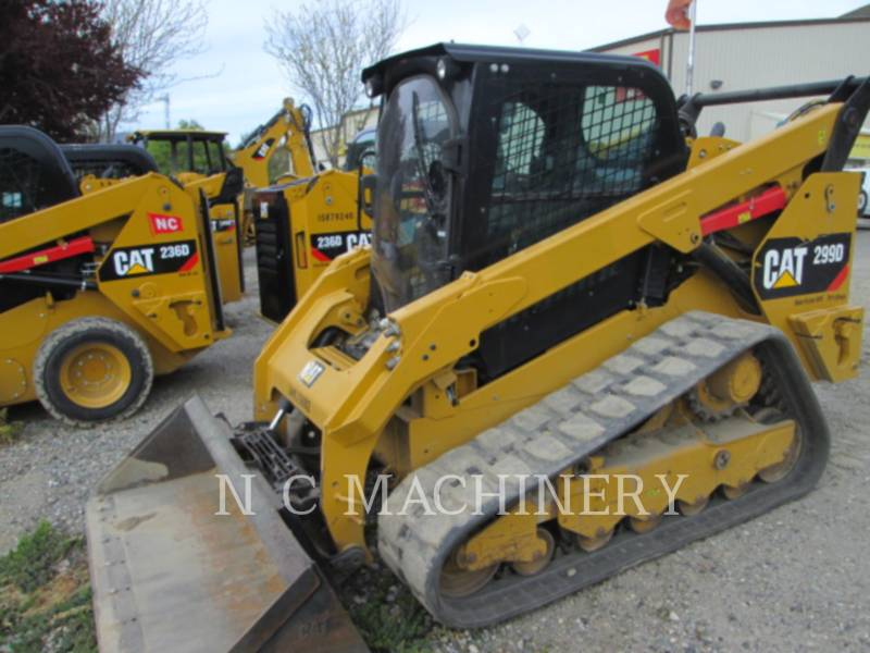 CATERPILLAR SKID STEER LOADERS 299D1 H3CB equipment  photo 4