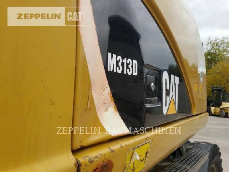 CATERPILLAR PELLES SUR PNEUS M313D equipment  photo 23