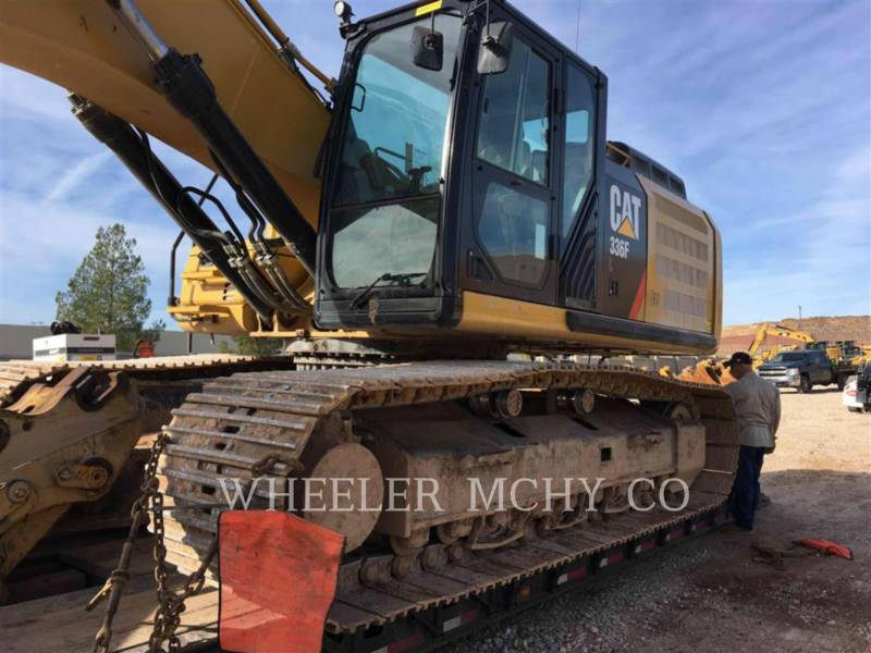 CATERPILLAR PELLES SUR CHAINES 336F L THM equipment  photo 5