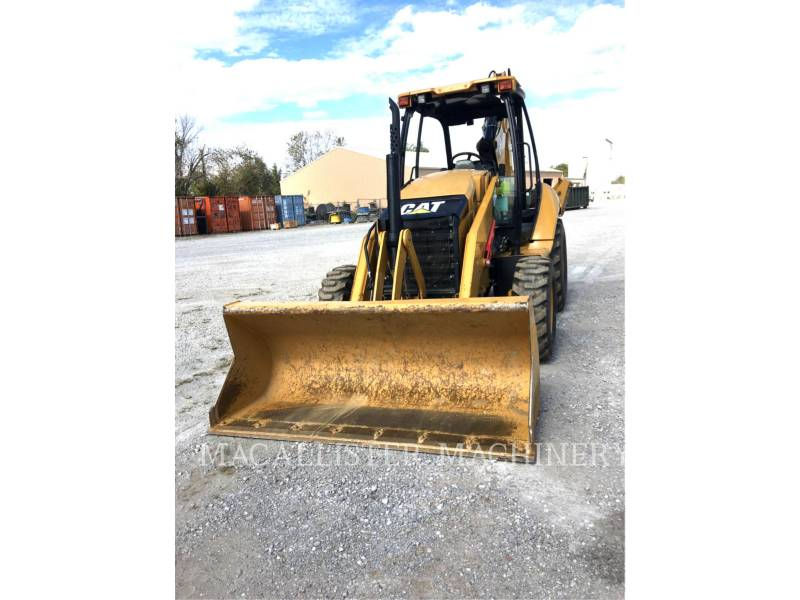 CATERPILLAR RETROEXCAVADORAS CARGADORAS 416 F equipment  photo 3
