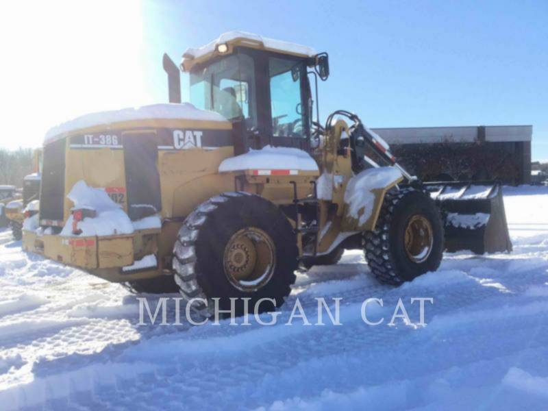 CATERPILLAR WHEEL LOADERS/INTEGRATED TOOLCARRIERS IT38G equipment  photo 5