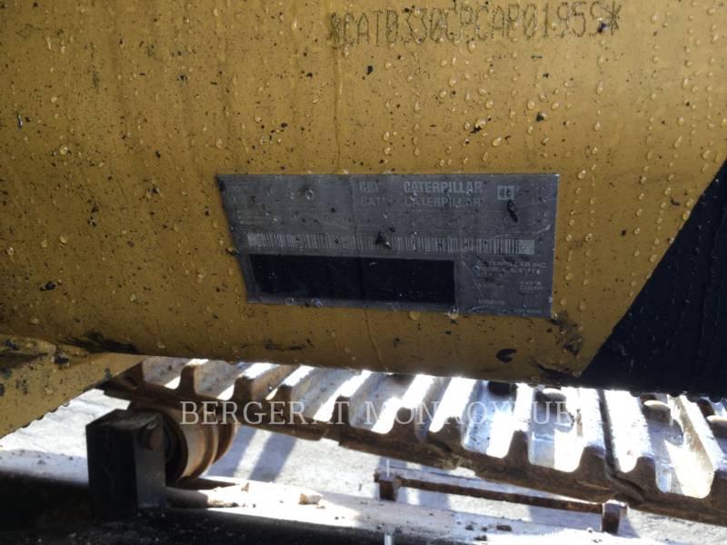 CATERPILLAR KOPARKI GĄSIENICOWE 330CL equipment  photo 6
