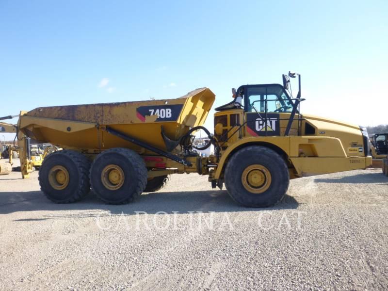 CATERPILLAR アーティキュレートトラック 740B WT equipment  photo 5