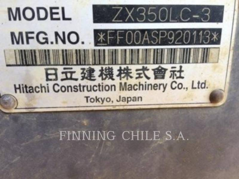 HITACHI EXCAVADORAS DE CADENAS 350LC 3 equipment  photo 11
