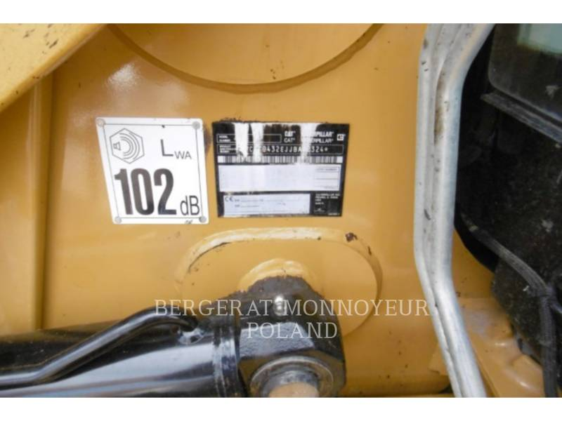 CATERPILLAR TERNE 432E equipment  photo 3