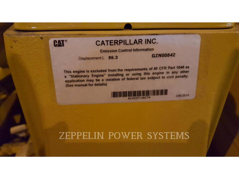 CATERPILLAR FIXE - GAZ NATUREL G3520C UNUSED equipment  photo 5