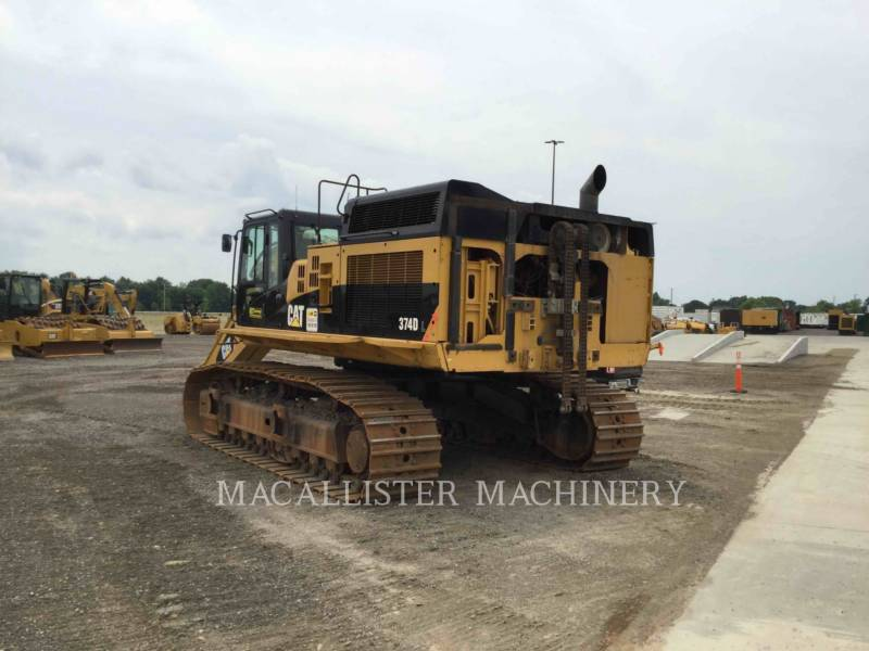 CATERPILLAR TRACK EXCAVATORS 374DL equipment  photo 17