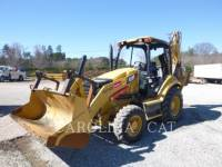Equipment photo CATERPILLAR 416FST FF BAGGERLADER 1