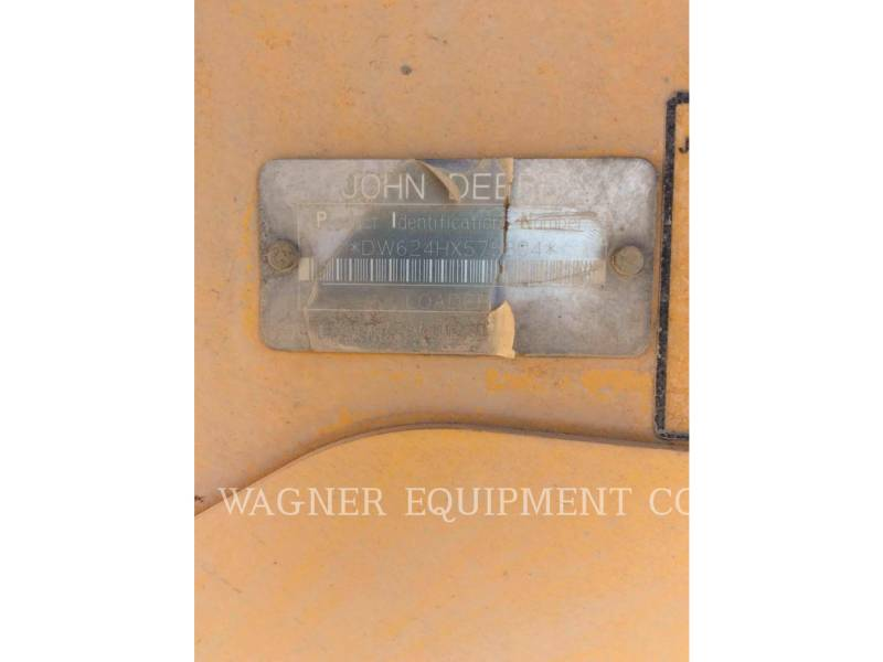 DEERE & CO. WHEEL LOADERS/INTEGRATED TOOLCARRIERS 624H equipment  photo 5