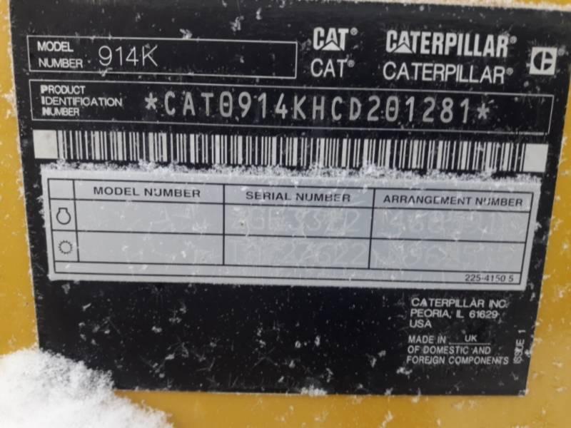 CATERPILLAR RADLADER/INDUSTRIE-RADLADER 914K equipment  photo 2