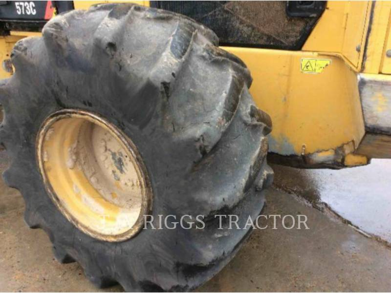 CATERPILLAR FORESTRY - FELLER BUNCHERS - WHEEL 573C equipment  photo 22