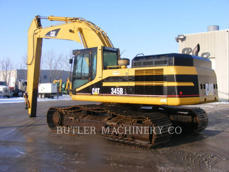 CATERPILLAR PELLES SUR CHAINES 345 B L SERIES LL equipment  photo 3