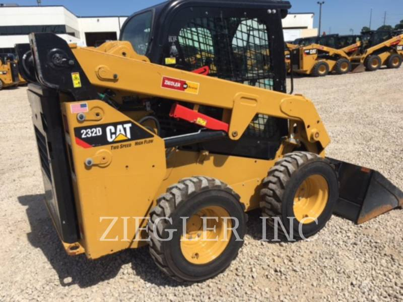 CATERPILLAR KOMPAKTLADER 232DW equipment  photo 5