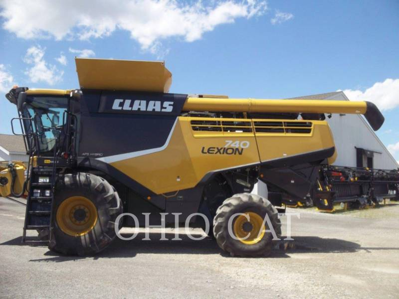 CLAAS OF AMERICA KOMBAJNY LEX740 equipment  photo 1
