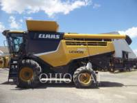 Equipment photo CLAAS OF AMERICA LEX740 КОМБАЙНЫ 1