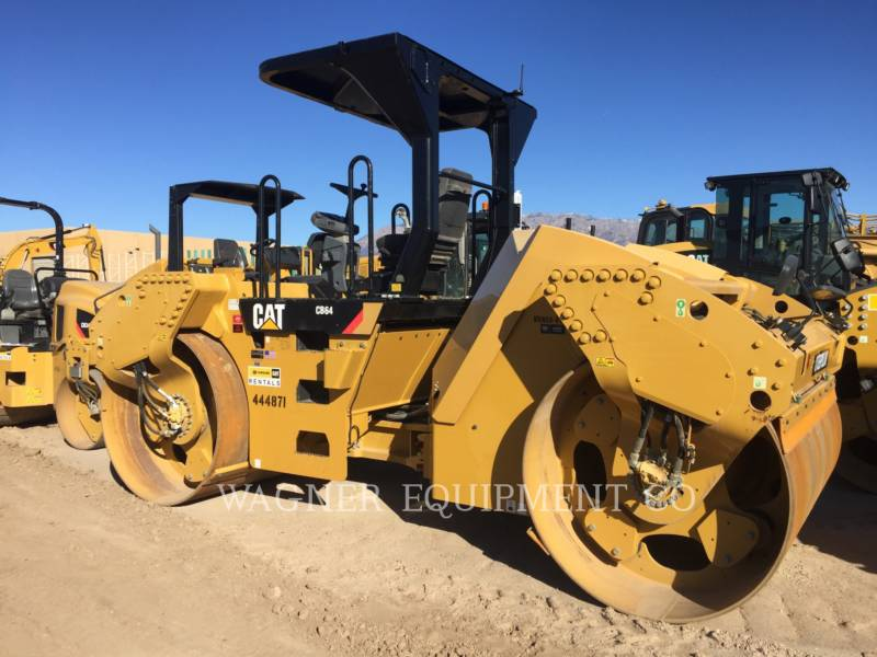 CATERPILLAR COMPACTEURS TANDEMS VIBRANTS CB64 equipment  photo 2