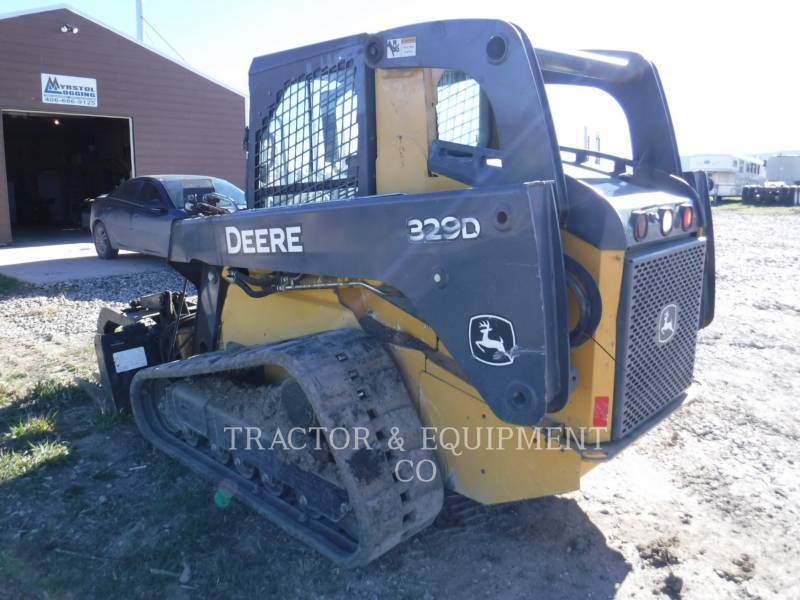 JOHN DEERE SKID STEER LOADERS 329D equipment  photo 6