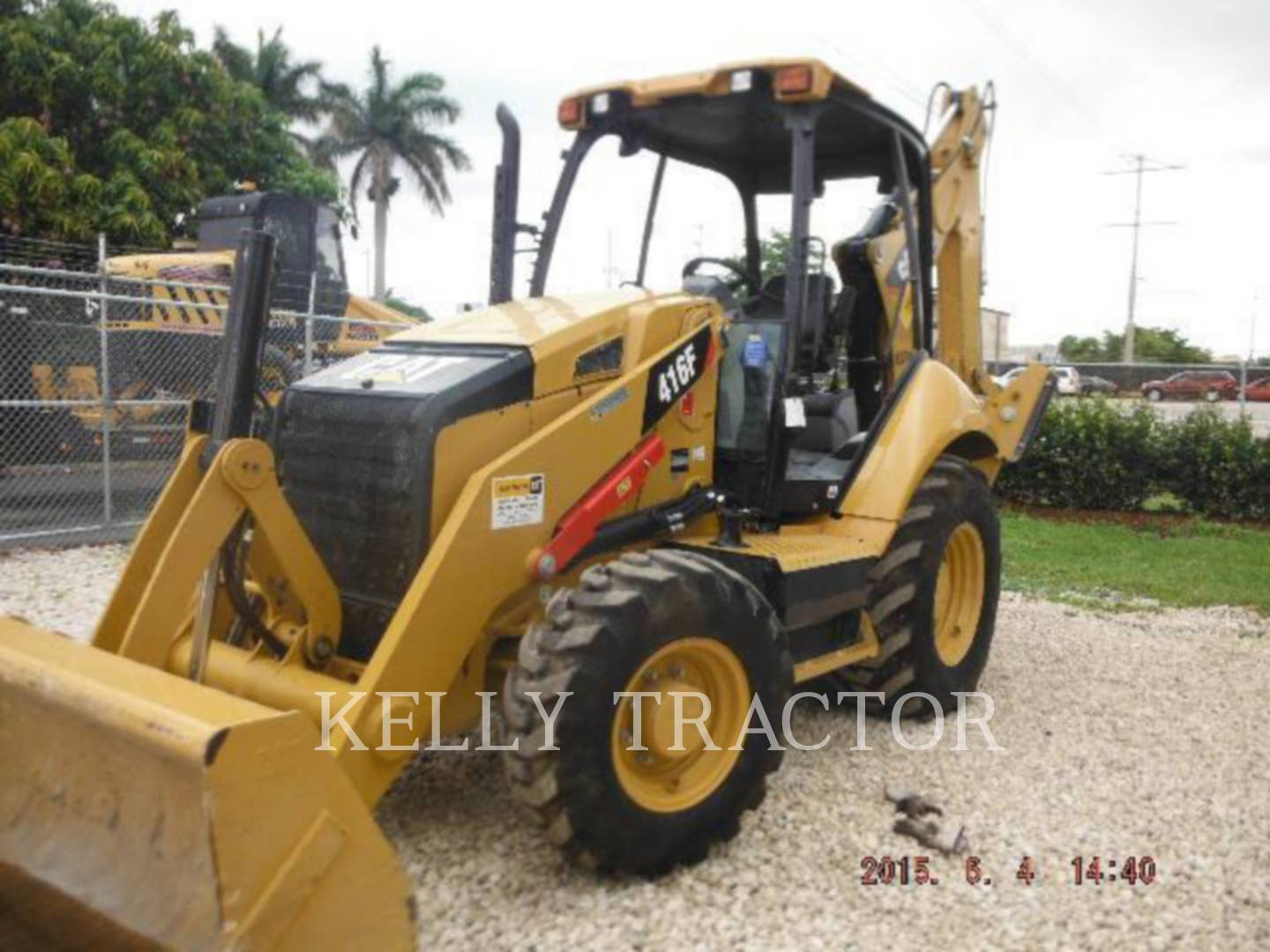 Detail photo of 2014 Caterpillar 416F from Construction Equipment Guide