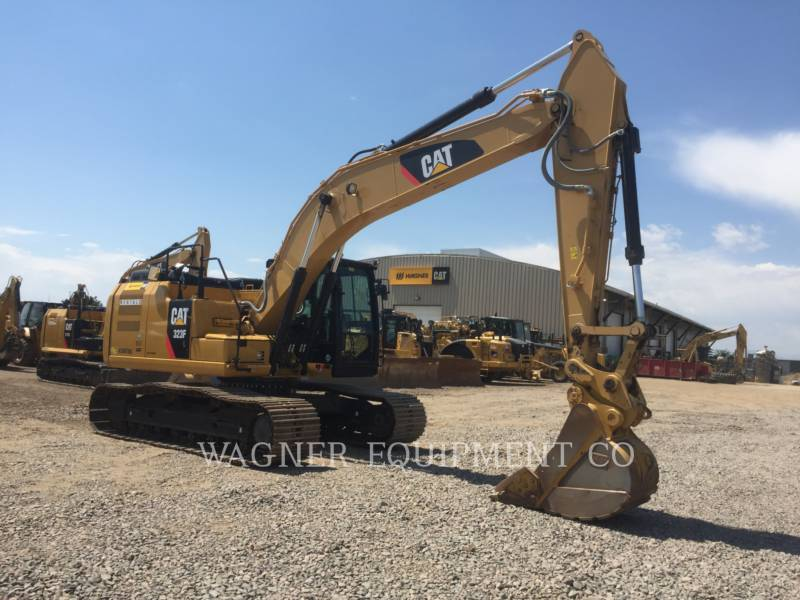 CATERPILLAR TRACK EXCAVATORS 323FL TC equipment  photo 4