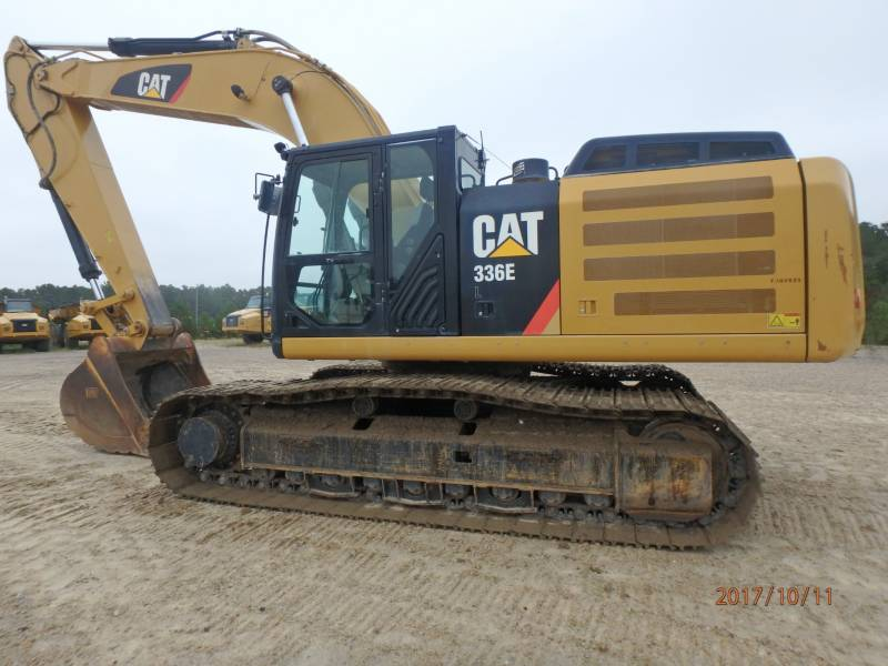 CATERPILLAR KOPARKI GĄSIENICOWE 336EL equipment  photo 5