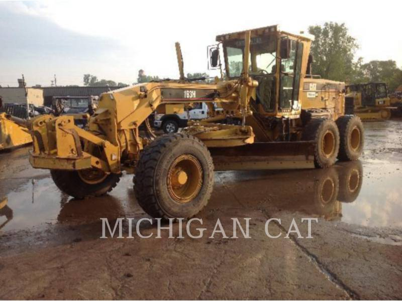 CATERPILLAR NIVELEUSES 163H equipment  photo 1