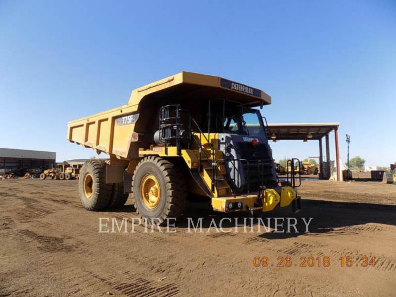 CATERPILLAR OFF HIGHWAY TRUCKS 775F equipment  photo 1