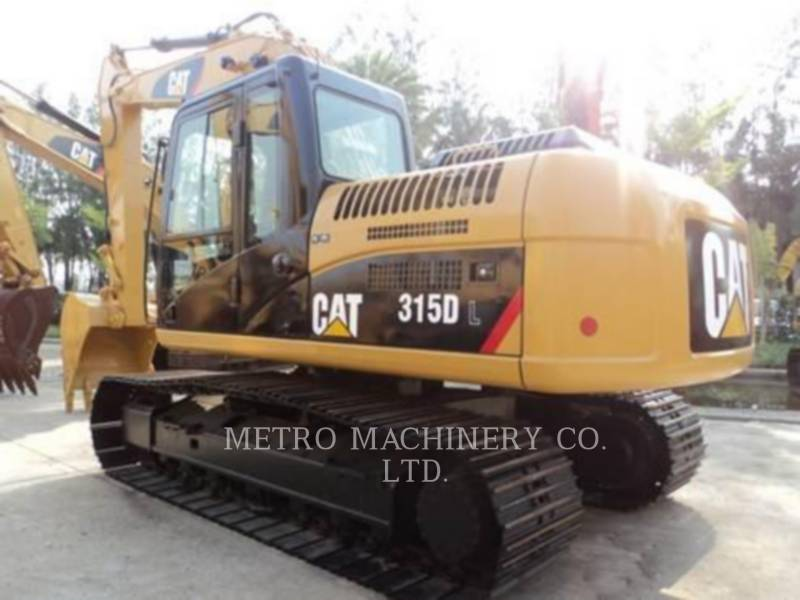 CATERPILLAR EXCAVADORAS DE CADENAS 315DL equipment  photo 6