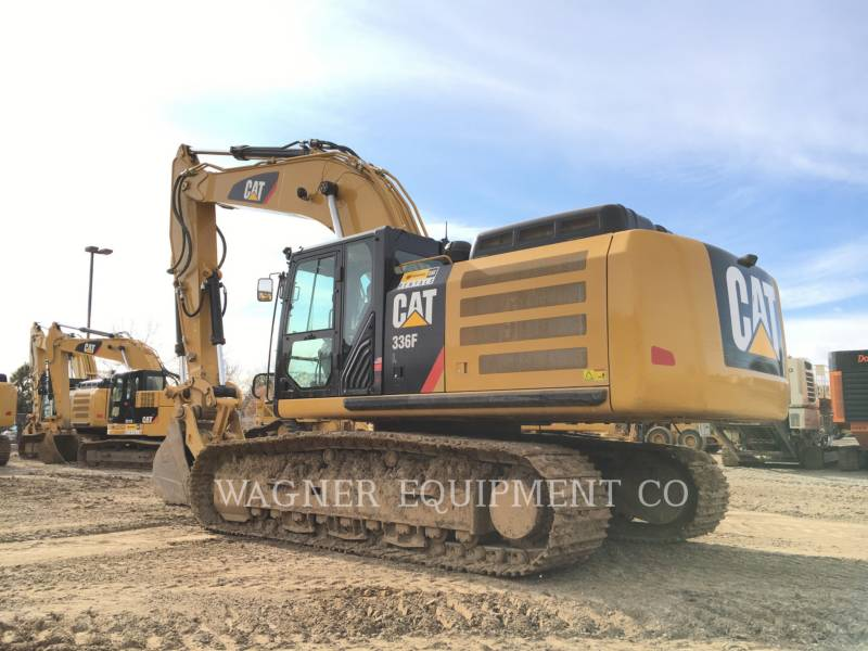 CATERPILLAR TRACK EXCAVATORS 336FL THB equipment  photo 3