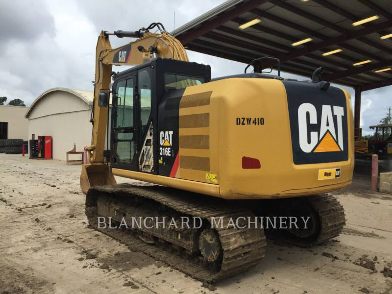 CATERPILLAR ESCAVADEIRAS 316EL equipment  photo 3